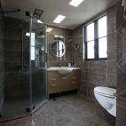 中式三居室卫生间效果图