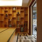 中式小户型榻榻米卧室装修效果图