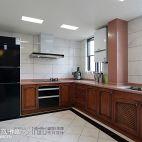 中式厨房整体橱柜效果图