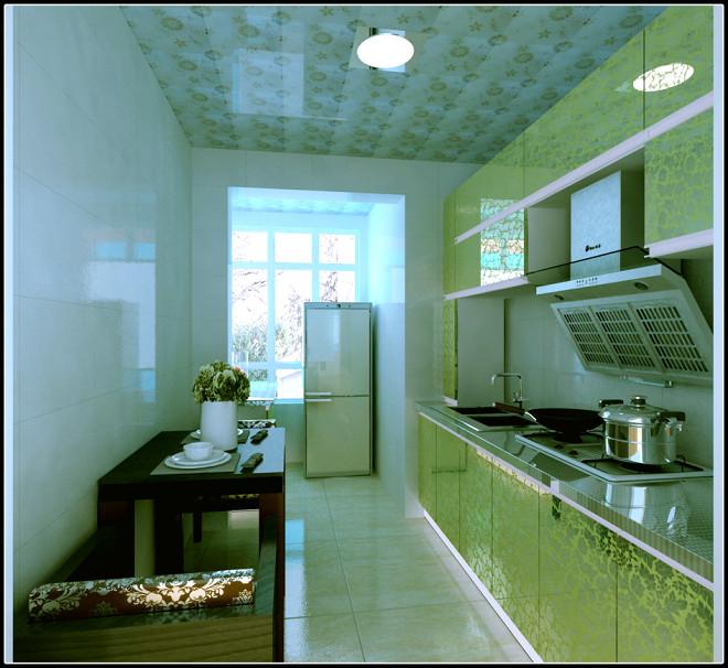 二居室集成厨房装修效果图大全