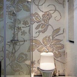 现代风格卫生间淋浴房效果图片欣赏