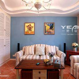 10平米小客厅暖色调设计图片
