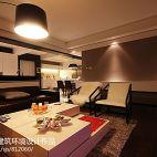 120平米家居客厅连餐厅十字架吊顶效果图