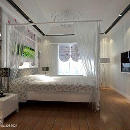 巴黎都市苏小姐雅居_现代卧室装修设计效果图