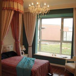 11平米欧式儿童房窗台设计