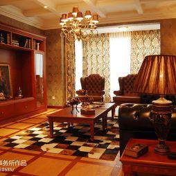 东城首府样板间欧式家装客厅效果图