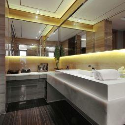 新古典卫浴镜效果图