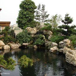 现代花园设计装修效果图