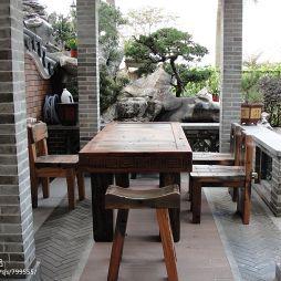 中式园林家具设计效果图