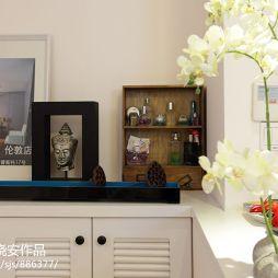 家装现代简约玄关鞋柜装修图片