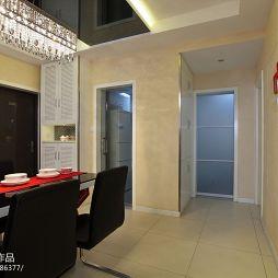 现代风格两室一厅餐厅图片