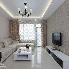 现代风格客厅背景墙装修欣赏