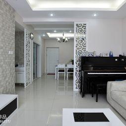 现代风格客厅背景墙设计