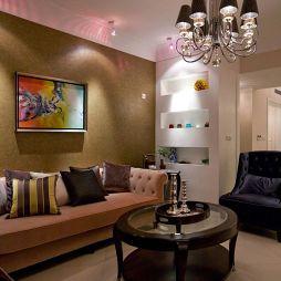 欧式风格客厅吊灯效果图