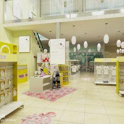 现代母婴店装修效果图