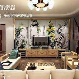 郑州 新烟鸿城  中式家居设计_865434