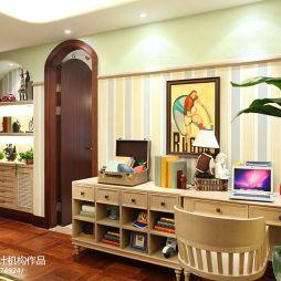 别墅现代儿童房家具装修效果图