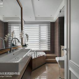 新古典风格卫浴镜设计图