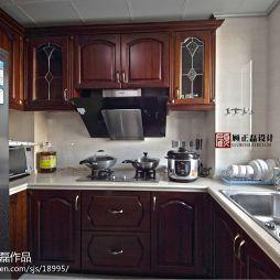 欧式家庭厨房装修效果图