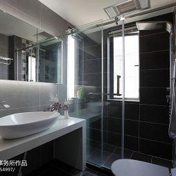 简约风格卫生间淋浴房效果图