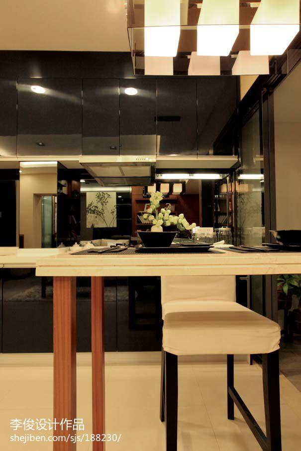 国际资讯_现代风格样板房吧台图片 – 设计本装修效果图