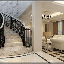 欧式风格楼梯装修效果图案例