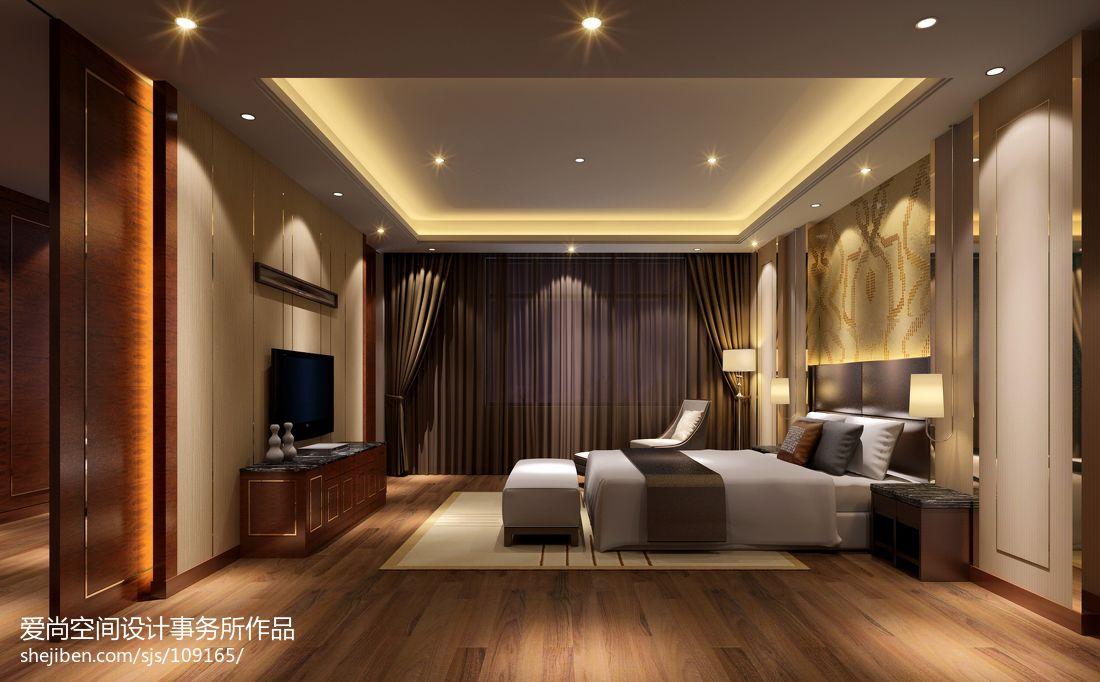 现代简约电视墙墙纸_简约现代卧室吊顶装修图片 – 设计本装修效果图