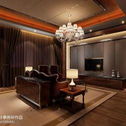 现代卧室窗帘装修图片