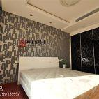 时尚现代风格卧室背景墙装修设计
