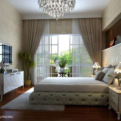 欧式卧室空间设计图