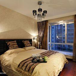 欧式卧室窗帘设计