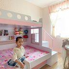 女儿房学生床装修图片