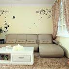 简约现代客厅沙发装修效果图
