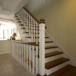 美式家用楼梯扶手设计