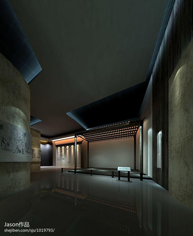 博物馆文房四宝展厅设计_944022