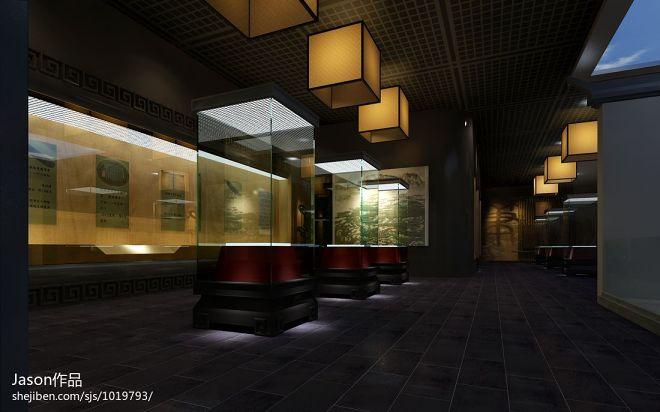 博物馆文房四宝展厅设计_944026