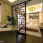 复地东湖国际新古典风卧室隔断设计