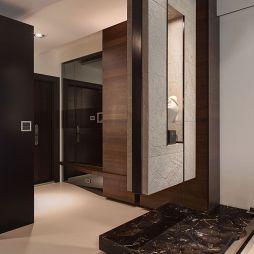 时尚现代家装玄关隔断装修图片