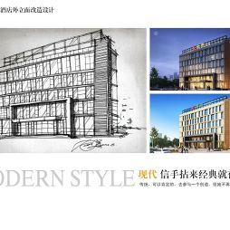 2012年合肥文一酒店外立面改造设计方案_960248