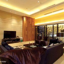 现代简约家装客厅电视背景墙装修
