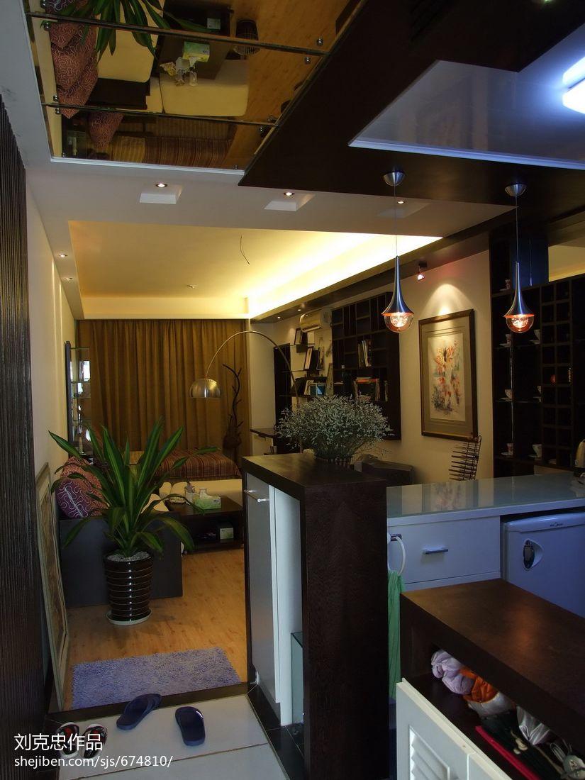 小户型厨房装修_45平米小户型玄关装修 – 设计本装修效果图