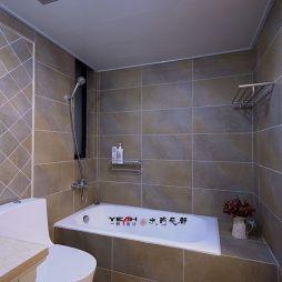 欧式风格卫生间浴室装修效果图