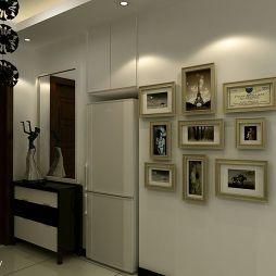 现代玄关照片墙设计