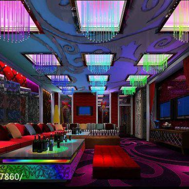紫金ktv娱乐会所设计效果图_992480
