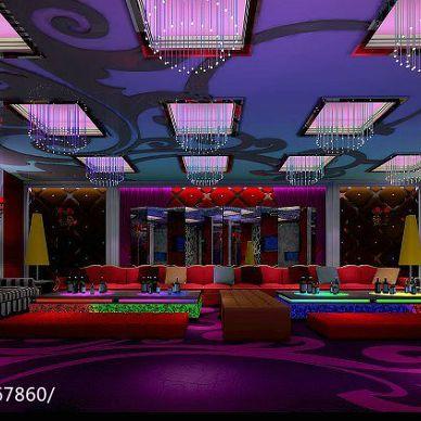 紫金ktv娱乐会所设计效果图_992481