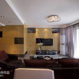 现代简约风格家装客厅吊顶图片