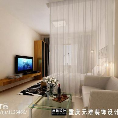 某开发商简装样板房设计_998048