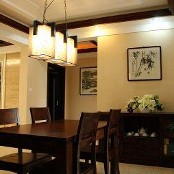 中式风格 客厅吊灯效果图