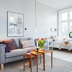 40平米客厅沙发装修效果图