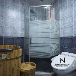 现代美式淋浴房